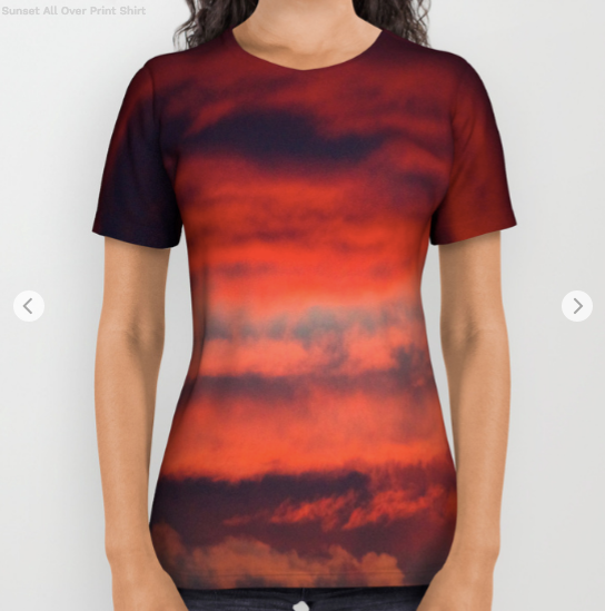 Tshirt - Sunset in Montreal