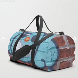 Duffle Bag - Funny Graffiti - Duflfe Bag