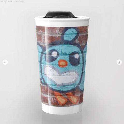 Travel Mugs - Funny Graffiti - Travel Mug