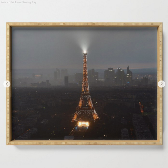 Serving tray - Eiffel tower