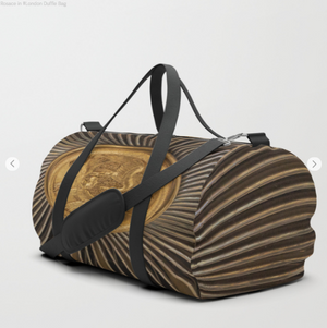 Duffle Bag - Rosace In #london - Duflfe Bag