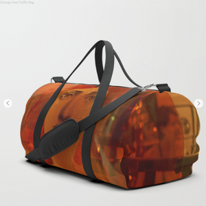 Duffle Bag - Strange Face - Duflfe Bag