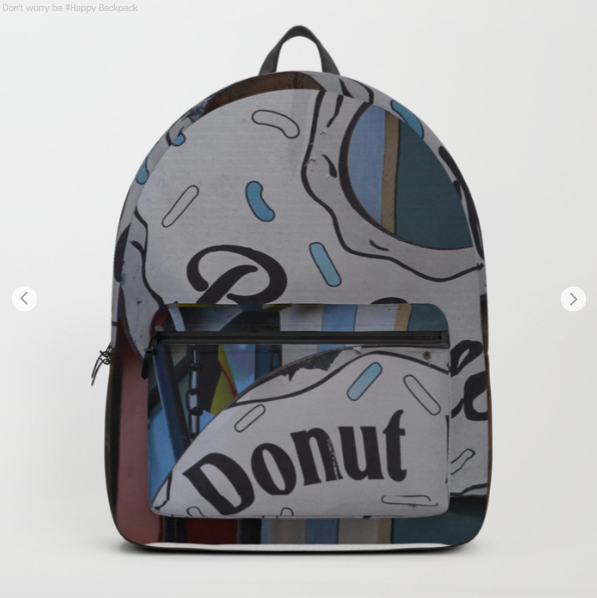 Backpack - Donut Worry Be Happy - Backpack