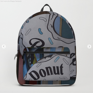 Backpack - Donut worry be happy