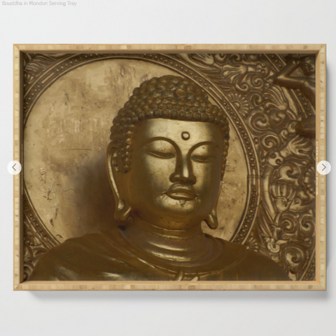 Serving tray - Buddha in London