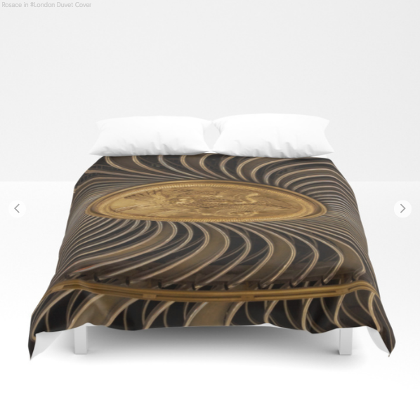 Duvet Cover - Rosace In London - Duvet Cover