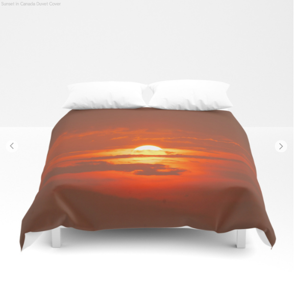 Duvet Cover - Sunset In Canada - Duvet Cover