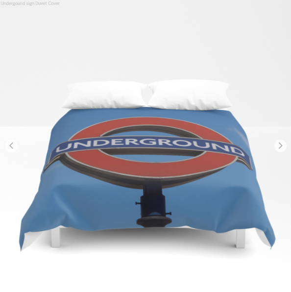 Duvet Cover - Underground In London - Duvet Cover