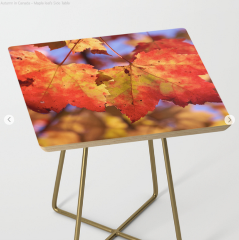 Side Table - Maple Leaf - Side Table