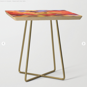 Side table - Maple leaf
