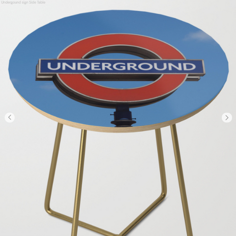Image of Side Table - Underground In London - Side Table