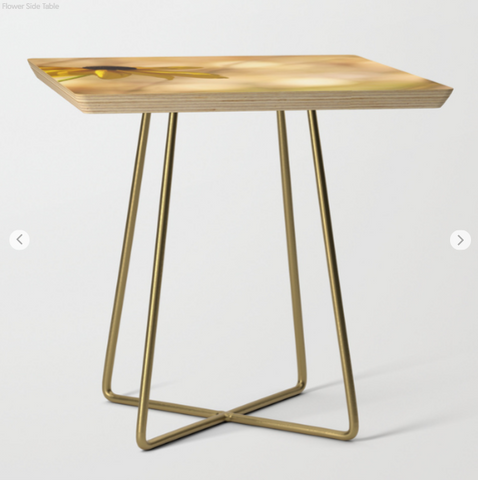 Image of Side Table - A Flower On The Table - Side Table