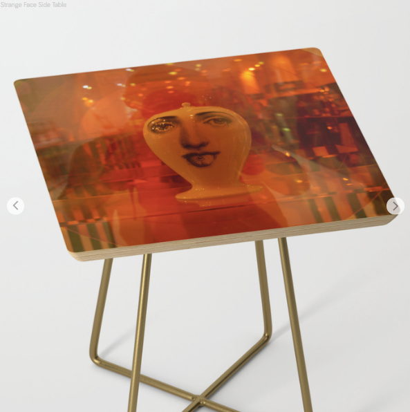 Table d'appoint - Strange Face - Table d'appoint