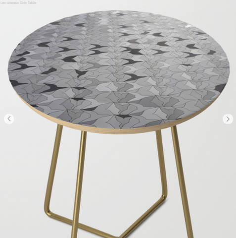 Image of Side Table - The Birds In Paris - Side Table