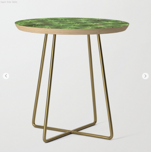 Table d'appoint - Les pins
