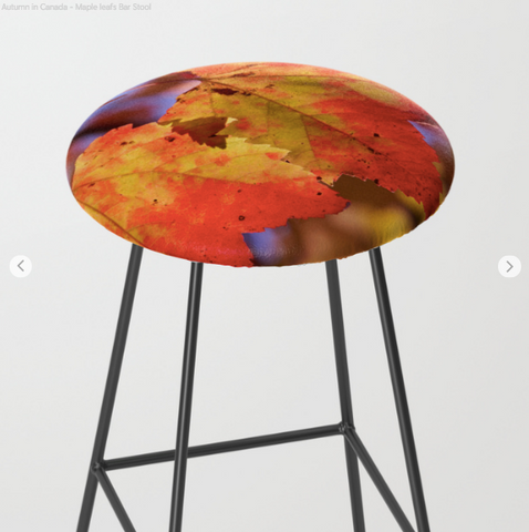 Image of Bar Stools - Maple Leafs - Bar Stools