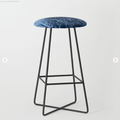 Tabourets de bar - Blue Rain - Tabourets de bar