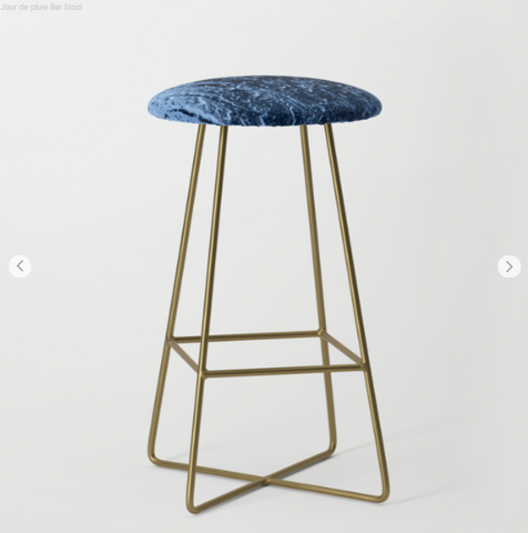 Image of Bar Stools - Blue Rain - Bar Stools