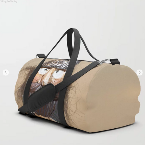 Image of Duffle Bag - Viking in Iceland