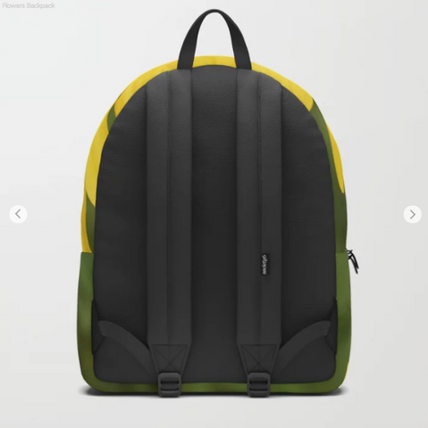 Image of Backpack - Nice yellow flowers in Canada