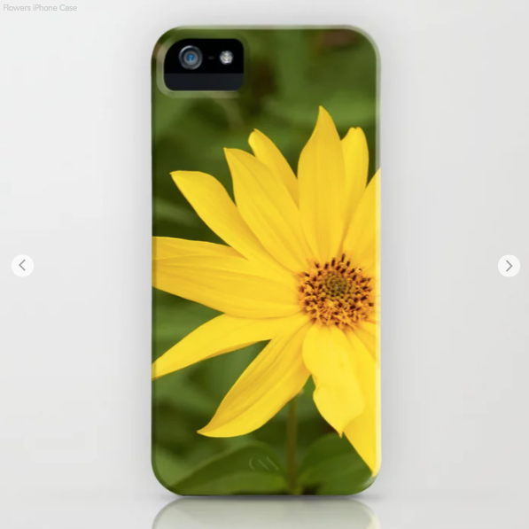 Phone case - Nice yellow flowers in Canada