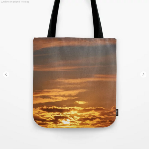 Tote Bag - Sunshine in Iceland
