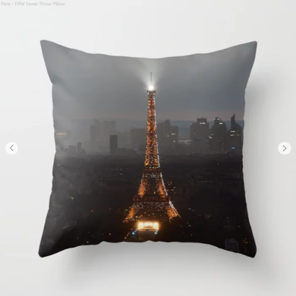 Eiffel Tower - Decorative throw pillows
