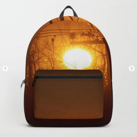 Backpack - Sunrise in Montréal-Nord