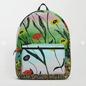 Backpack - Growing to the light by Ans Duin