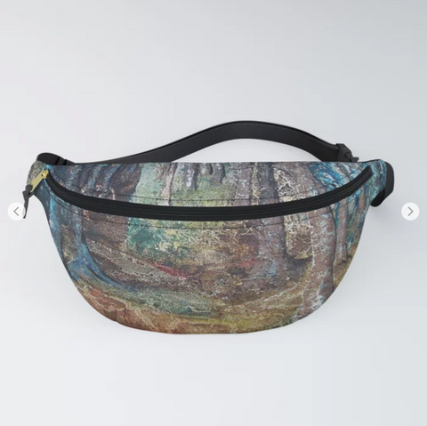 Deep in the forest by Ans Duin - Fanny Pack
