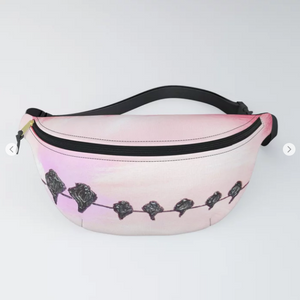 Resting birds by Ans Duin - Fanny Pack