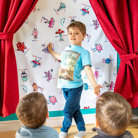 Image of Tablecloth - Made for children - Perfect as a gift - Educational Toys