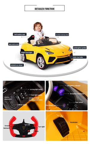 Lamborghini Urus - ride on cars for kids - Available in Canada Only