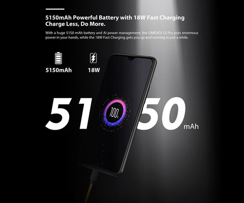 UMIDIGI S3 PRO - presale - one month delivery