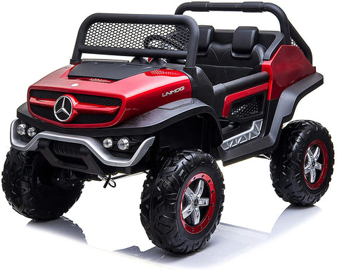 Image of Unimog 2-Seater - Ride on cars for kids - Mercedes
