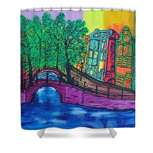 Amsterdam Grachtengordel - Shower Curtain
