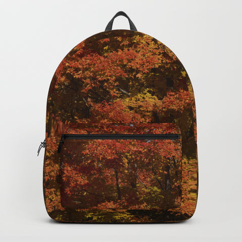 Backpack - Autumn In Canada - Backpack