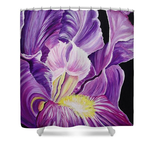 Bearded Iris - Shower Curtain