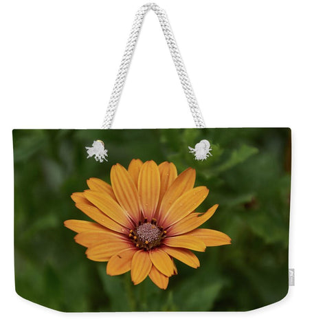Image of Beautiful Flower - Weekender Tote Bag - 24 X 16 / White - Weekender Tote Bag