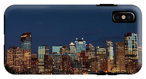 Image of Calgary, Albert #canada - Phone Case