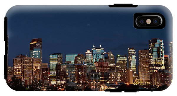 Calgary Albert #canada - Phone Case - Iphone Xs Tough Case - Phone Case