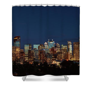Calgary Albert #canada - Unique Shower Curtains - 71 X 74 Standard - Shower Curtain