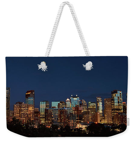 Image of Calgary, Albert #canada - Weekender Tote Bag