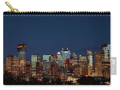 Image of Calgary Albert #canada - Carry-All Pouch - Small (6 X 4) - Carry-All Pouch