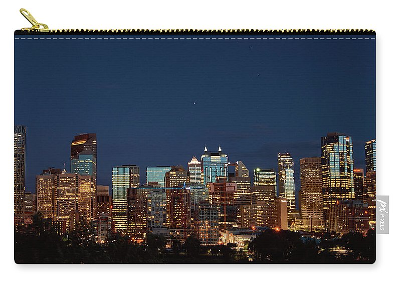Calgary Albert #canada - Carry-All Pouch - Medium (9.5 X 6) - Carry-All Pouch