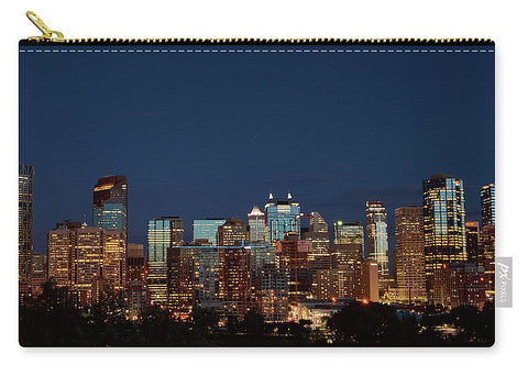 Image of Calgary Albert #canada - Carry-All Pouch - Medium (9.5 X 6) - Carry-All Pouch