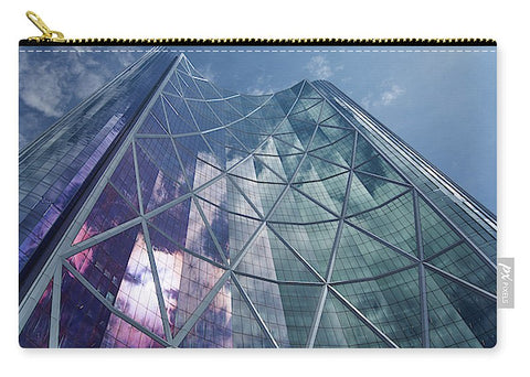 Image of Calgary Downtown In #canada - Carry-All Pouch - Medium (9.5 X 6) - Carry-All Pouch