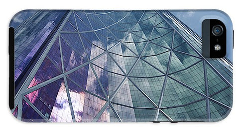 Image of Calgary Downtown In #canada - Phone Case