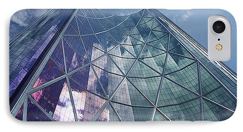 Image of Calgary Downtown In #canada - Phone Case - Iphone 8 Case - Phone Case