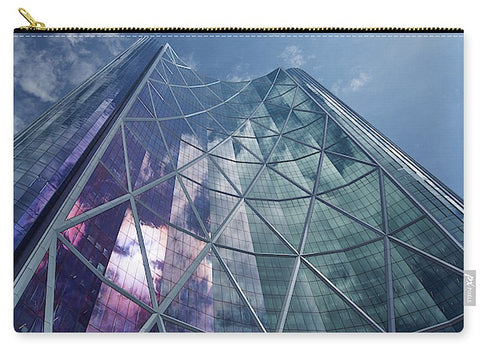 Image of Calgary Downtown In #canada - Carry-All Pouch - Large (12.5 X 8.5) - Carry-All Pouch